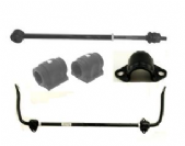 Rear Anti Roll Bar, Mountings & Links - Without Active Cornering Enhancement